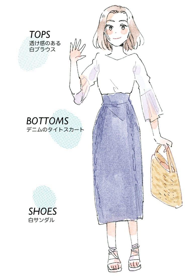 【春夏秋冬別】合コンの服装の正解はこれ!男性ウケ間違いなしの合コンコーデ 4番目の画像